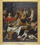 Snyders, Frans. La marchande de gibiers. Le Louvre