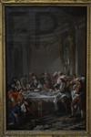 Jean François de Troy, Le déjeuner d'huïtres (esquisse), 1735, Le Louvre.