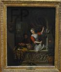 Willem van Mieris, La cuisinière, 1715, Le Louvre.