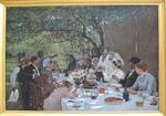 Fourié, Albert, Un repas de noces à Yport, 1886, MBA Rouen