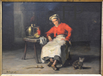 Bail, Joseph, Le Petit mitron, début XXe, musée d'AHA Evreux.
