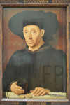 Anonyme, L'homme au verre de vin, vers 1460, Le Louvre.