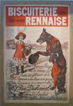 Affiche Biscuiterie rennaise, vers 1930