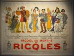 Affiche menthe Ricqlès