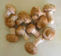 Champignons de paris blonds
