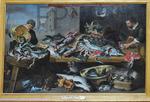 Snyders, Frans. La marchande de poissons. Le Louvre