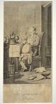 Coqueret, Pierre-Charles, Les Gastronomes en jouissance, vers 1812, BM de Rouen.