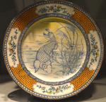 Assiette. Porcelaine de Sèvres. 1869. MBA Quimper.