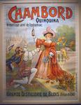 Affiche Chambord quinquina