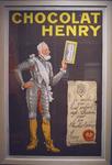 Affiche chocolat Henry