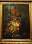 Moïse Jacobber, Fleurs et fruits, 1839, Le Louvre.