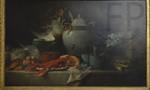 Anne Vallayer, Vase, homard, fruits et gibiers, 1817, Le Louvre.
