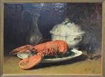 Fouace, Guillaume, NM au homard et à la soupière, Musée de Cherbourg.