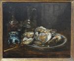 Vollon, Antoine, L'assiette d'huîtres, Musée maritime de l'île Tatihou.