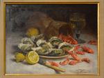 Fouace, Guillaume, NM aux huîtres et aux crevettes, Musée maritime de l'île de Tatihou.