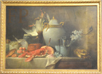 Vallayer-Coster, Vase, homard, fruits et gibier, 1815, Le Louvre