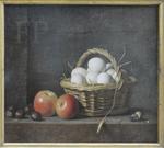 Delaporte, Le panier d'œufs, 1724, Le Louvre