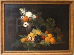 Le Lorrain, Louis-Joseph. NM de fleurs et de fruits. 1743. MBA Caen.