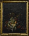Jan van Huysum, Fleurs et fruits, Le Louvre.
