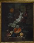Jan Van Os. Fleurs et fruits, Le Louvre.