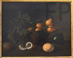 Valkenburg, Dirk. Fruits du Surinam, 1707. MBA de Quimper.