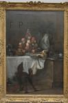 J.-S. Chardin, Le buffet, 1728, Le louvre.