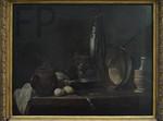 J.-S. Chardin, Le menu de maigre, 1731, Le louvre.
