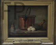 J.-S. Chardin, Ustensiles de cuisine, vers 1733, Le louvre.