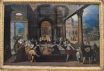 La parabole de l'enfant prodigue, Louis de Cauléry, début XVIIe. MBA de Quimper.