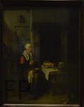 Brekelenkam, Le bénédicité, Le Louvre