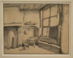 Dusart, Vue d'un intérieur, Le Louvre