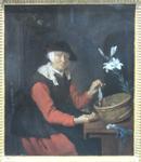 Metsu, Gabriel. La marchande de harengs, vers 1660. MBA Montpellier