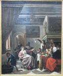 Steen, Jan. Comme les vieux chantent, les enfants piaillent, vers 1662. MBA Montpellier