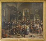 Steen, Fête dans une auberge, 1674. Le Louvre