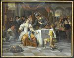 Steen, Le banquet d'Antoine et Cléopâtre, 1674, Le Louvre