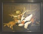 Anonyme, NM, gibier avec légumes. Musée de Bayeux.