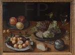 Beert, Osias. NM aux raisins, grenades et abricots. Vers 1605. MBA Caen.