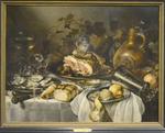Claesz Pieter, NM au jambon, vers 1645, Petit Palais, Paris