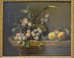 Dupuis, Prunes, courges, pêches, 1650, Le Louvre