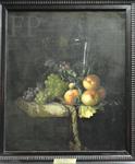 Van Aelst, Raisins, pêches et grand verre, 1670, Le Louvre