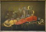 van Heem, fruits, vaisselles et homard, MAA de Périgueux.