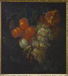 van Heem, fruits retenus par un ruban bleu, MAA de Périgueux.